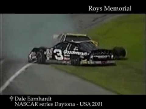 Dale Earnhardt Fatal Crash - YouTube