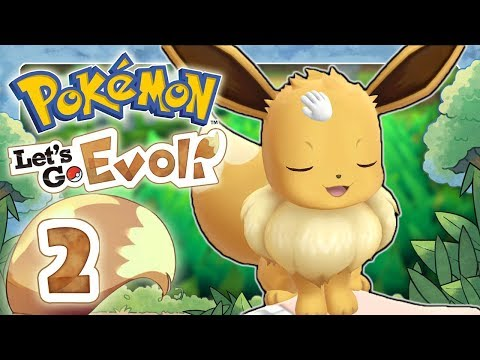 POKEMON LETS GO EEVEE 🌏 #2: Our cute journey begins!