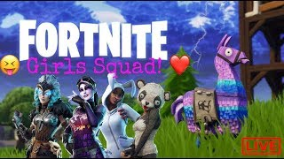 Fortnite Battle Royale | $100 Giveaway at 3k | Girls Squad | Chilled Stream | YTG