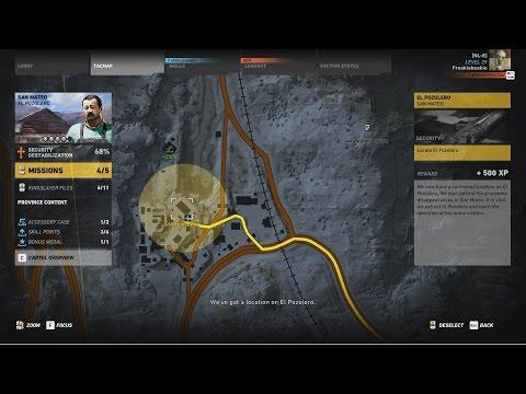 Tom Clancy's Ghost Recon  Wildlands, El Pozolero, San Mateo base (Solo gameplay)