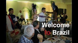 Welcome to Brazil show Carnival School of Samba Hotel Macksoud Plaza - Apito de Mestre