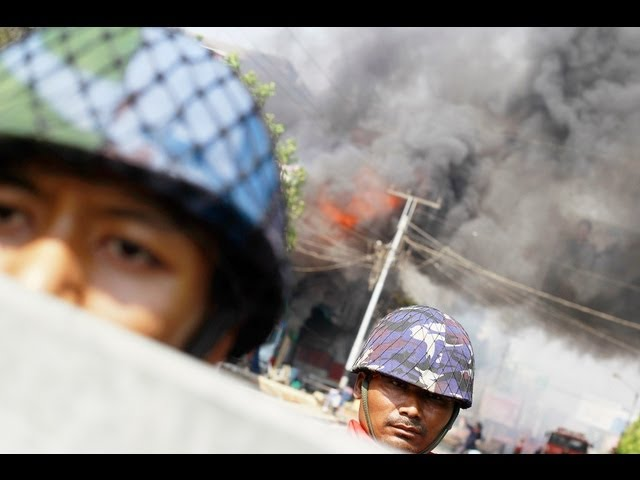 Burma's Anti-Muslim Riots: Buddhists Disturb the Peace (LinkAsia: 3/29/13) Travel Video