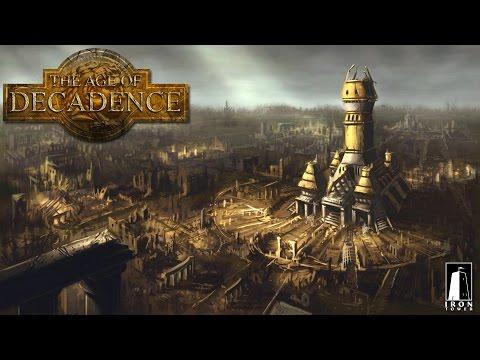 Обзор игры: The age of decadence. (2015)