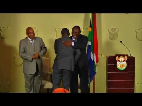 Inauguration of Minister of Minerals and Resources Msebenzi Zwane (23/09/15)