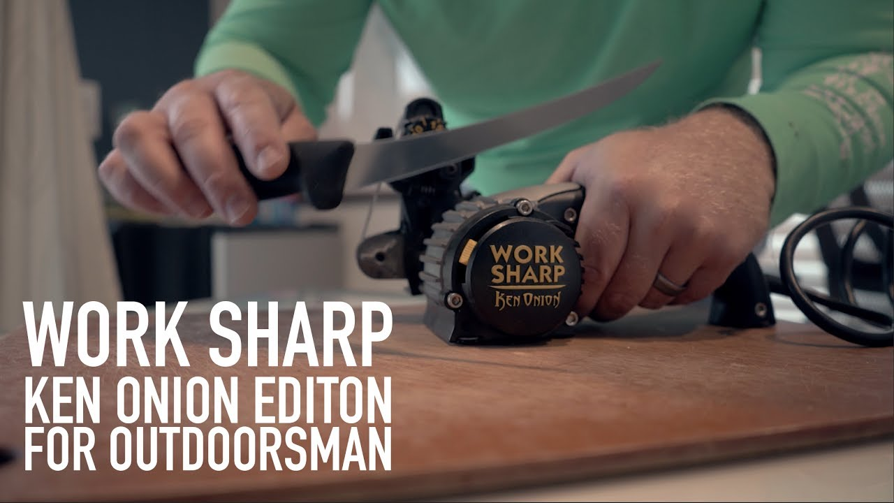 ken onion edition knife sharpener post 2 yr use review