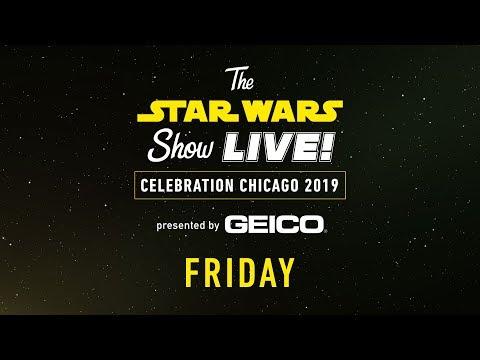 Star Wars Celebration Chicago 2019 Live Stream - Day 1 | The Star Wars Show LIVE!