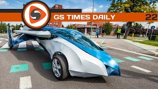 GS Times [DAILY]. AeroMobil, Google Glass, HP Sprout