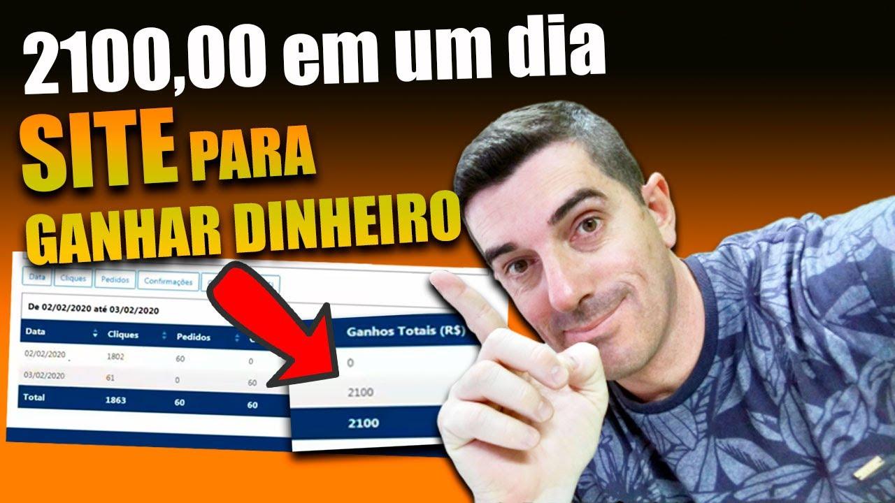 Site pra Ganhar dinheiro Na internet Aluno Ganhou 2100,00 em um dia usando o youtube sem hotmart