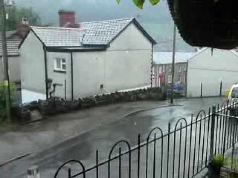 Rainy day in Wales