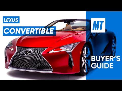 Lexus Convertible! 2021 Lexus LC500 REVIEW | MotorTrend Buyer's Guide