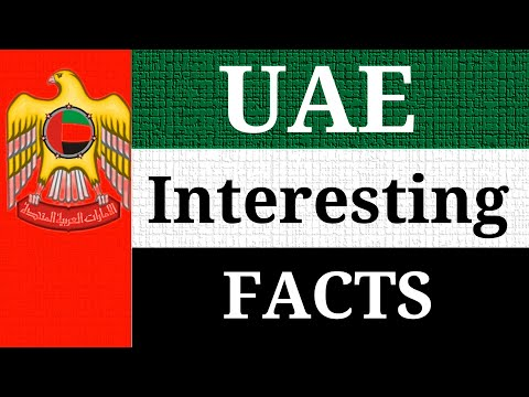 UAE Amazing and Interesting Facts About United Arab Emirates | Educational Video for Kids