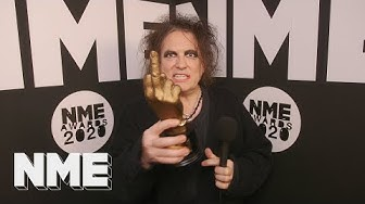 The Cure's Robert Smith gives new album update at NME Awards 2020