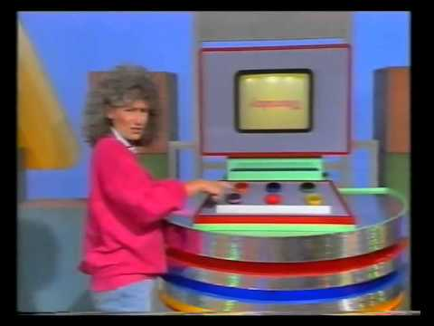 Play School - Benita and George - upsy down town