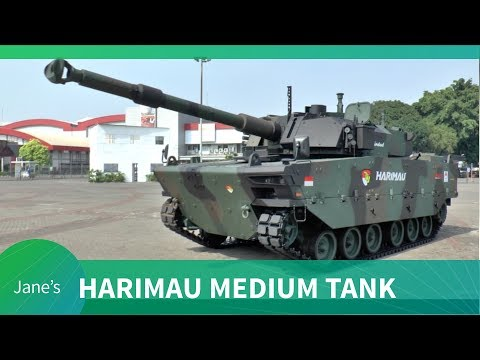 Indo Defence 2018: Harimau (Tiger) Medium Tank Show Debut