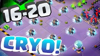 "MEGA CRAB 2.0 Stages 16-20 ""So Many Cryo Bombs!"" Boom Beach"
