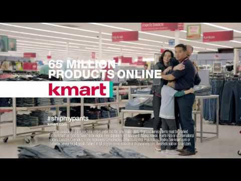 Kmart's 'Ship My Pants' Commercial [HD]