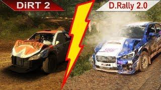 10 YEARS ! | DiRT 2 (2009) vs. DiRT Rally 2.0 (2019) | PC | ULTRA