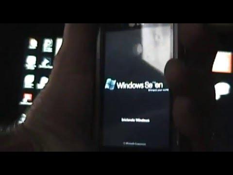 LG Arena KM900 - Windows 7 Hack.avi