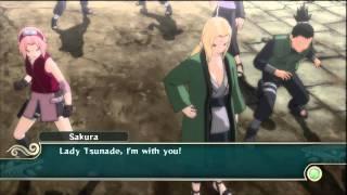 Naruto: Ultimate Ninja Storm 2 - Tsunade vs Pain Boss Battle HD