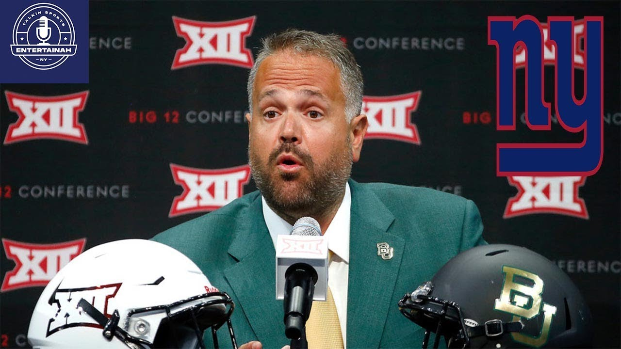 Matt Rhule gives NY Giants reason to watch the Sugar Bowl on New ...