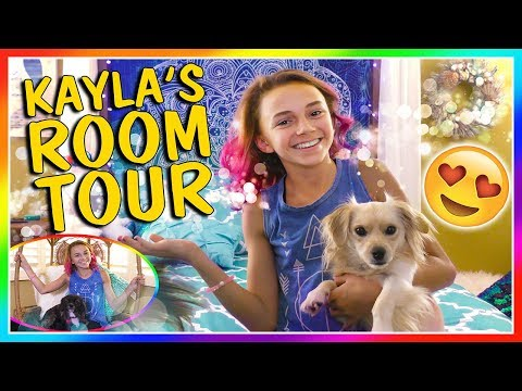KAYLA'S NEW BEDROOM TOUR! | We Are The Davises
