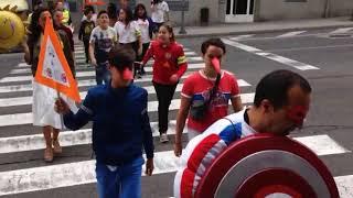 Los alumnos del Cardenal Cisneros participan en la campaña Stop Accidentes