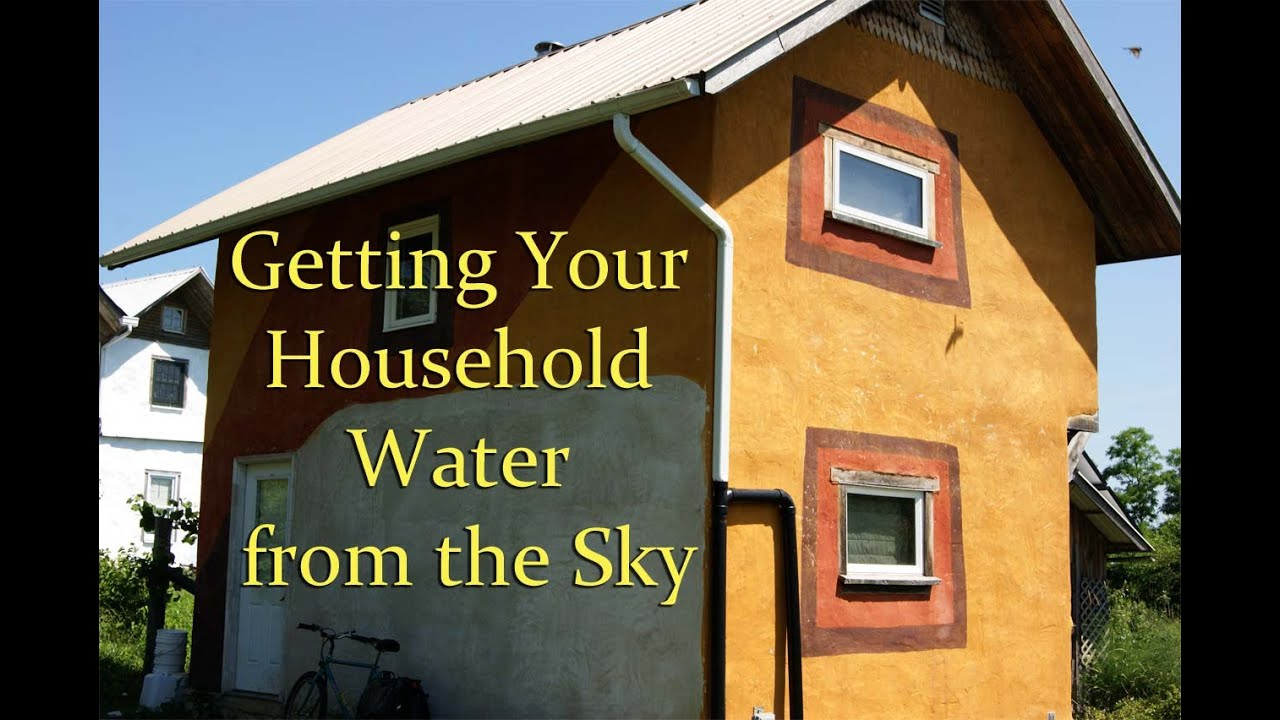 Charming Rainwater Catchment For A Tiny House   YouTube