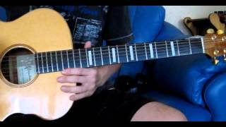The Beatles Abbey Road Polythene Pam Acoustic Guitar Lesson