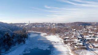 Зимова прогулянка Житомиром: від Старого бульвару до протилежного берегу річки Тететрів
