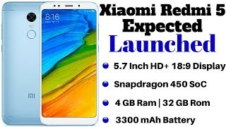 Xiaomi to Launch a New Smartphone on March 14, Xiaomi Redmi 5 Expected | XIAOMI REDMI 5
