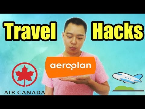 Aeroplan Miles Travel Hacks (MUST KNOW Canadian Travel Tips And Points Hacking)
