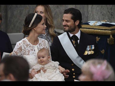 Christening of HRH Prince Alexander of Sweden 2016