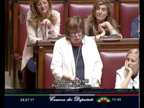 Decreto vaccini, dichiarazione di voto finale dell'On. Donata Lenzi (PD)