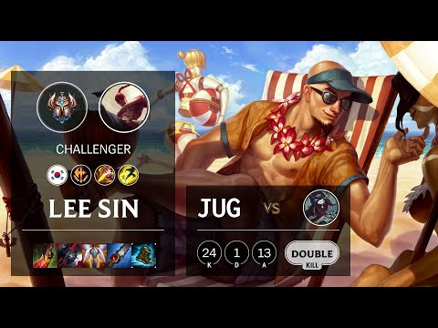 Lee Sin Jungle vs Kayn - KR Challenger Patch 10.13