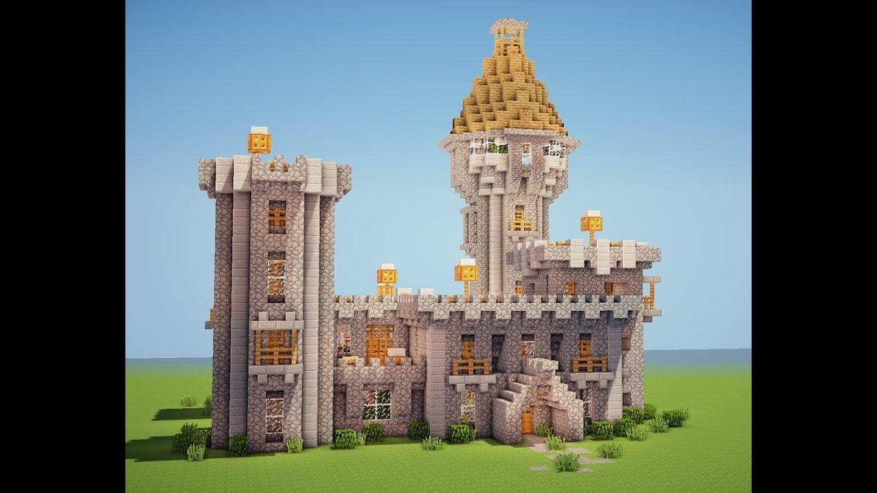 как строить замки в майнкрафте #3