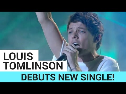 Louis Tomlinson Debuts New Single + One Direction Reunion (X-Factor Performance)