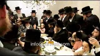 Viznitz Rebbe Visiting New York - Sivan 5774