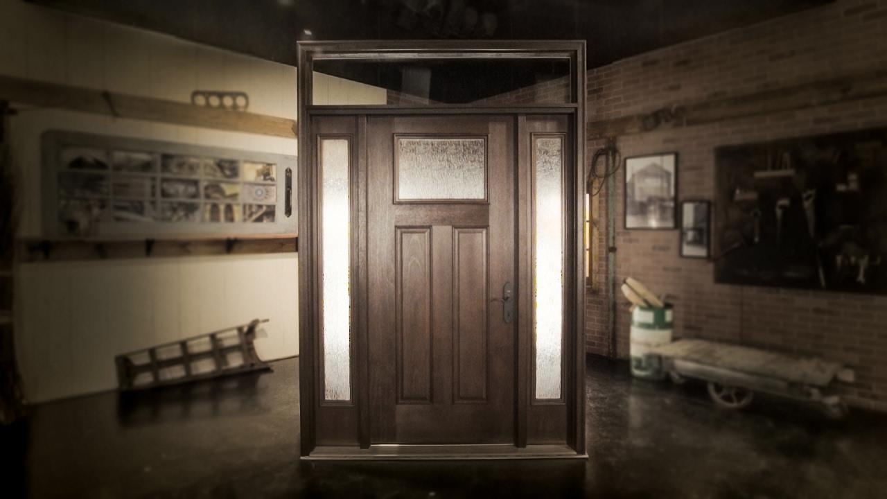 Anatomy Of An Exterior Door Unit | Reeb