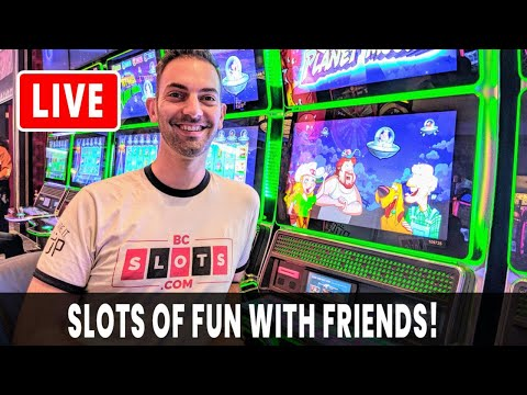 🔴 LIVE 🎰 SLOTS Of Fun With Friends 😍 BCSlots