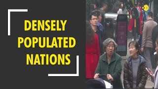 World's most densely populated nations