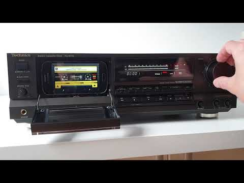 TECHNICS RS-B755 as MP3/FLAC player - Tapeless Deck Project