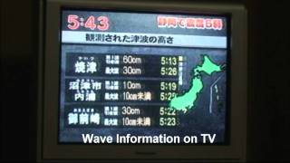 Central Japan Earthquake on 11 Aug 2009