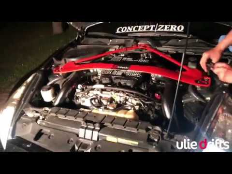 ulie made vq37 intake plenum power mod!! 370z & G37