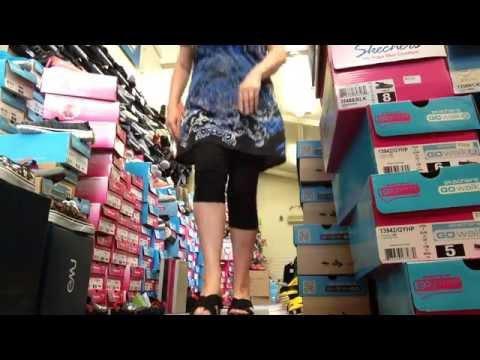 245880f60129 Review Skechers Rumblers Black Wedge Sandal Gore geous