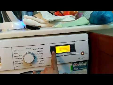 çamaşır makinesinde F43 hatası ve çözümü