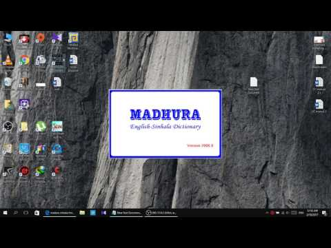 How to sovle font error in Madura Dictionary - YouTube