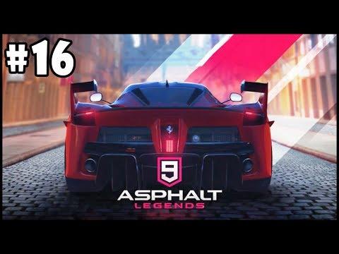 Asphalt 9: Legends - Walkthrough - Part 16 - The Path Drive To Win | Euro Tracks HD