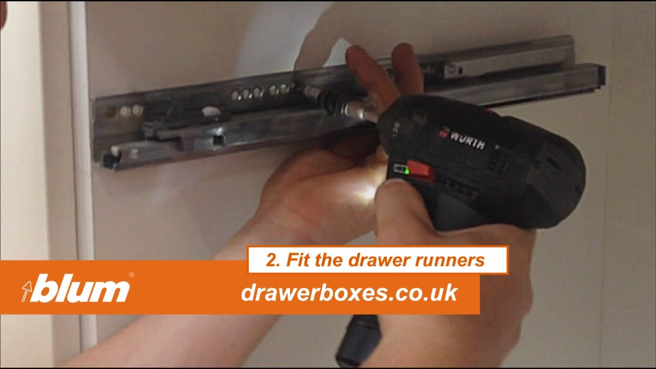 Amazing Blum Tandembox Antaro   Shallow Replacement Kitchen Drawer Box   2 Of 3 Fit  The Drawer Runners