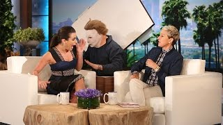 Lea Michele's Screaming Good Scare