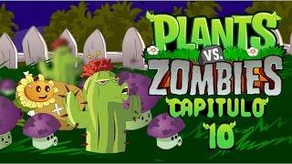 Plantas vs zombies animado 10 (PARODIA) Jehu Llerena